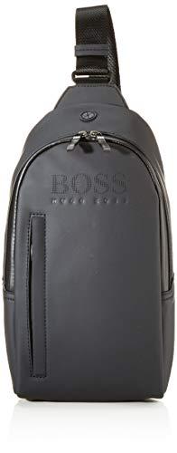 BOSS Hyper_backpack Mono rugzak voor heren, zwart (zwart)