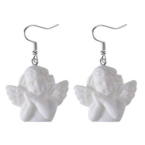 GOMYIE Cupid Sweet Angel Dangle Earings Barock Statue Glück Ohrringe für Frauen und Mädchen