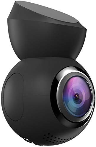 Navitel Cámara de salpicadero R1050 WiFi 1080P Full HD DVR con Gran Angular de 165° (detección de Movimiento, Monitor de Aparcamiento, Sensor G, GPS, grabación en Bucle)