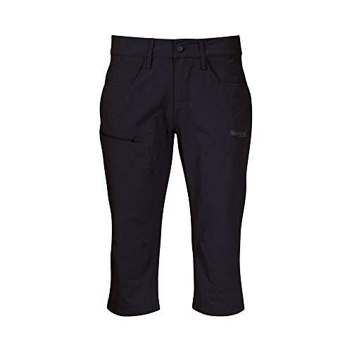 Bergans MOA W Pirate Pants Schwarz, Damen Hose, Größe L - Farbe Black