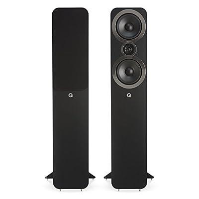 Q Acoustics 3050i Floorstanding Speakers (Pair) (Carbon Black) from Q Acoustics