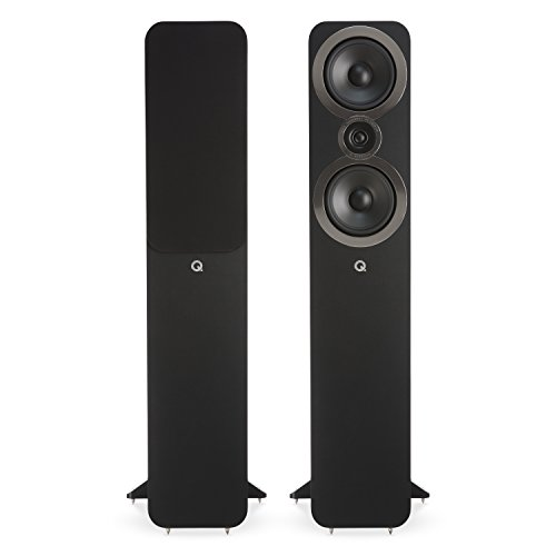 Q Acoustics 3050i 25W Negro conjunto de altavoces - Set de altavoces (25 W, Cine en casa, Negro, 180 W, De 2 vías, 44 - 30000 Hz)