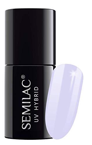 semilac UV Hybrid Nagellack, Anzahl 127, 7ml, Violett Creme