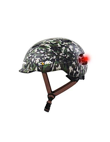 ICONE, ICON.E HELMET AIR Camouflage Military Green Unisex adulto, Taglia unica