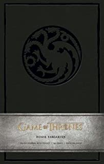 Game of Thrones( House Targaryen Hardcover Ruled Journal)[JOURNAL-GAME OF THRONES-TARGAR][Imitation Leather]