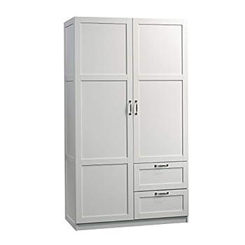 Sauder Select Collection | Wardrobe/Storage cabinet | White finish