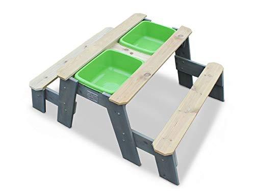 Exit Sand- Wasser und Picknicktisch m. 2 Sitzbänke