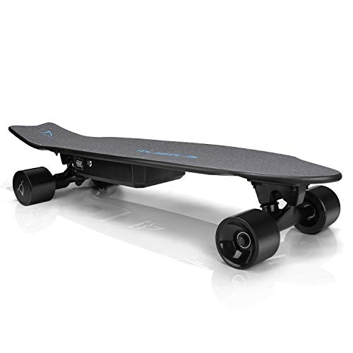 E-ASUM AS01 Electric Skateboard, 350W Hub-Motor Skateboards, 13MPH TOP Speed,10 Miles Range, 7 Layers Maple E Skateboard with Wireless Remote Control(US Stock)