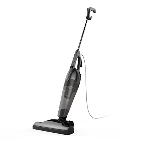 BESTEK Corded Stick Vacuum Cleaner Upright and Handheld 2-in-1 with HEPA Filtration (Corded Black)