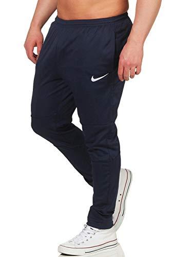 Nike Pantaloni Sosta 18, Nero_Blu_Bianco, M Uomo