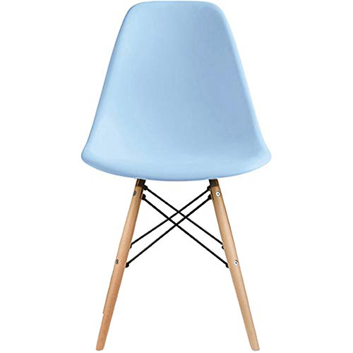 2xHome Eames Side(Blue) Dining Chair