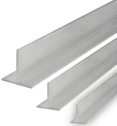 Aluminium T-Profil Schiene Walzblankes Alu Profil (30x30x3 mm - 1000 mm)
