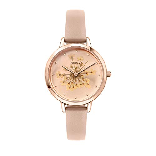 Oui & Me Reloj Analógico para Mujer de Cuarzo con Correa en Cuero ME010247