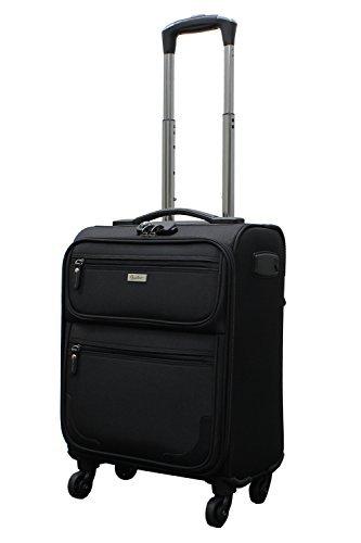 [ビータス] スーツケース ソフト 機内持ち込み可 BSC-20 保証付 28L 54 cm 3kg ブラック