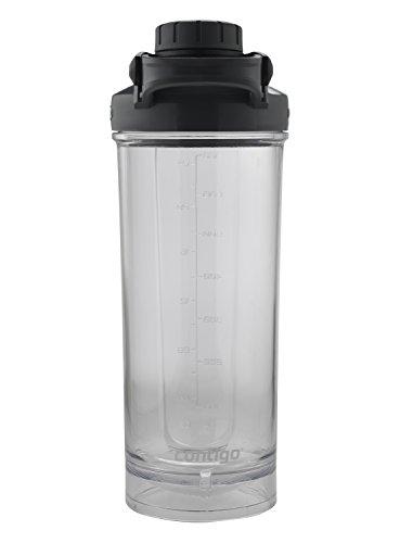 Contigo Shake & Go Fit 28oz Shaker Bottle With TasteGuard Black Protein Smoothie