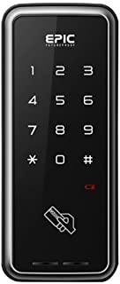 EPIC 電子錠 TOUCH HOOK 2(タッチフック 2)引き戸用 解錠方法:暗証番号/Mifare ICカード(taspo使用可)
