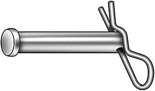 Gl Huyett, WWGCLPS6BPS6005, Clevis Pin W/Hairpin, 0.250x1 1/2 in, PK5