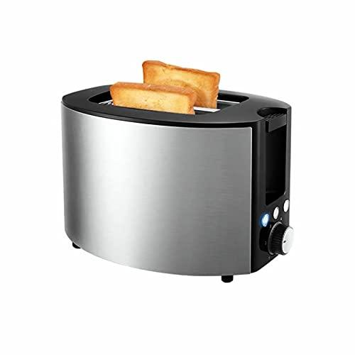 HVKLHNF Tostadora Casa Desayuno Tostada Pequeña Calefacción Pan Sándwich Tostadora De Acero Inoxidable