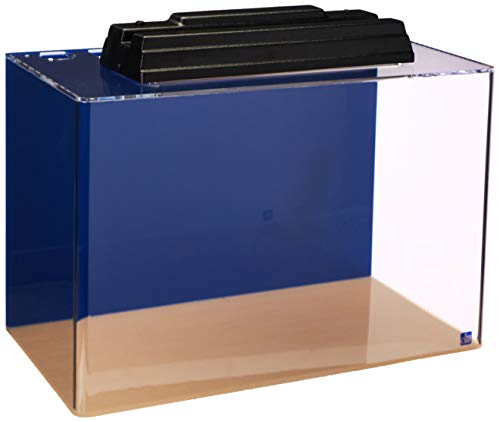 SeaClear 20 gal Acrylic Aquarium Combo Set, 24 by 13 by 16', Cobalt Blue
