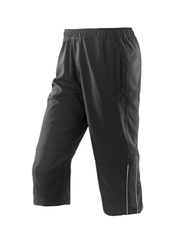 Michaelax-Fashion-Trade - Pantalon de sport - Droit - Uni - Homme - Noir - 60