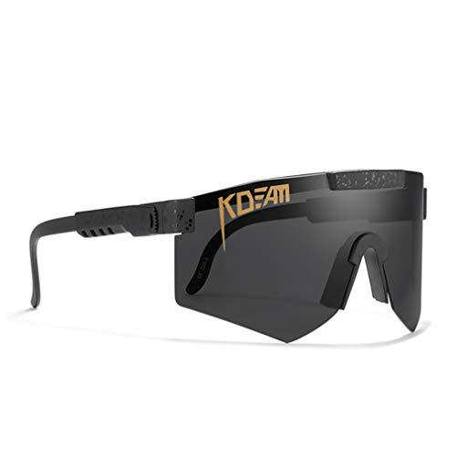 Gafas De Sol De Ciclismo Gafas De Bicicletas, para Hombres Y Mujeres Eyewear A Prueba De Viento Al Aire Libre, para Correr La Conducción De Golf De Béisbol,D