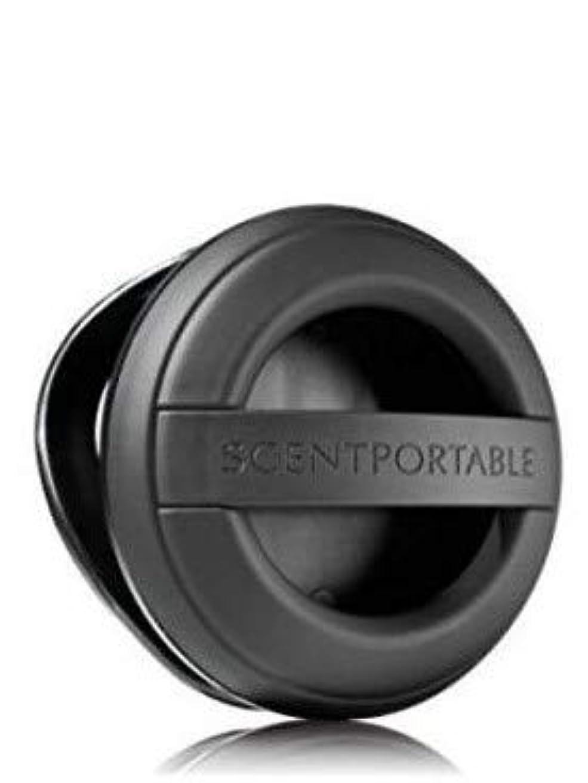 ハウジング保証する半ば【Bath&Body Works/バス&ボディワークス】 クリップ式芳香剤 セントポータブル ホルダー (本体ケースのみ) ブラックラバー Scentportable Holder Black Rubber [並行輸入品]