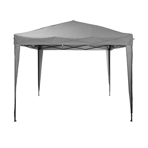 idooka Garden Gazebo 3m x 3m Pop Up Tent - 3m x3m Pop Up Gazebo Garden Igloo - Shelters & Gazebos Party Tent Steel Frame Gazebo - Waterproof Fabric with Bag Folding Square Canopy Outdoor Marquee Tent