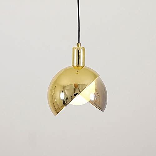 DSYADT Candelabros Nórdicos Modernos Iluminación Colgante Simple Hierro Luz LED Lámpara de Techo de Lujo Retro de Gama Alta G9 Luces Colgantes Adecuado para Dormitorio Cocina Sala de Estar Café