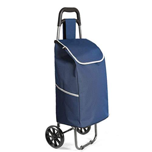 KFDQ Old Person Shopping Trolleys , Kleiner Wagen Klappstuhl Trolley Tragbarer Wagen Startseite Treppensteigen Einkaufswagen Alter Anhänger