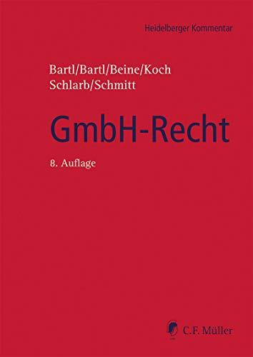 GmbH-Recht (Heidelberger Kommentar) (German Edition)