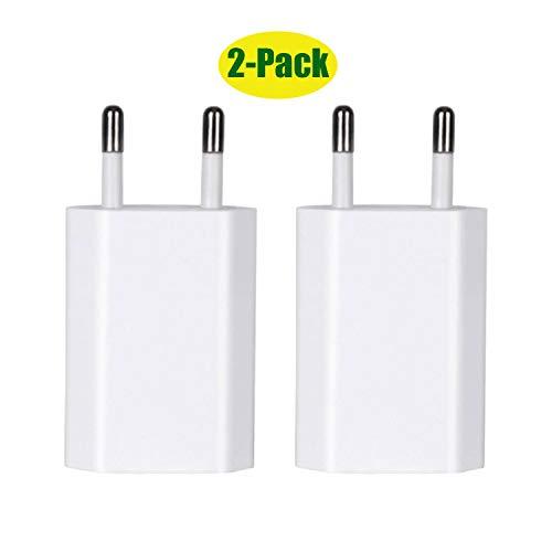 avis leses smartphones professionnel Chargeur ZLONXUN5W – Connexion USB pour le chargement, 2 pièces – Compatible avec les smartphones – iPhone…