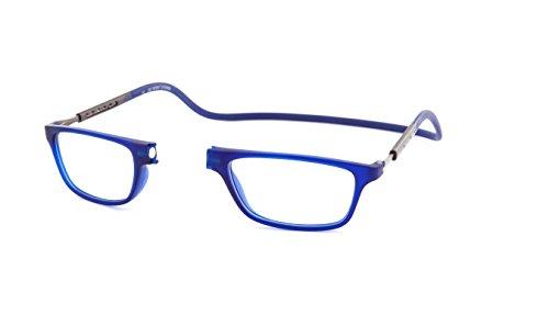 Monturas de Gafas de Lectura Slastik Nuevo Magnético Estilo Clic Jabba 005 Dioptría +2.00 de funda blanda