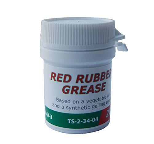 Castrol Rot Gummi Fett für Bremssattel Kolben Replica Dichtungen und Stiefel Fluid Rebuild Superb 20g
