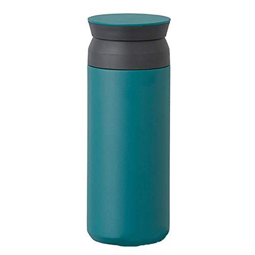 MSNLY Portable minimalistische Thermoskanne 304 Edelstahl minimalistischen Stil Kunst Tasse Reisen, frische Kaffeetasse