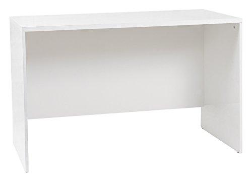 Tumueblekit Mesa Escritorio, Melamina, Blanco, 120X75X60 cm