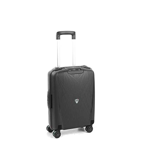 RONCATO Light trolley cabina rigido 4 ruote tsa Nero