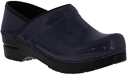 Sanita Damen Original Patent Clogs, Blau (Dark Blue 705), 42 EU