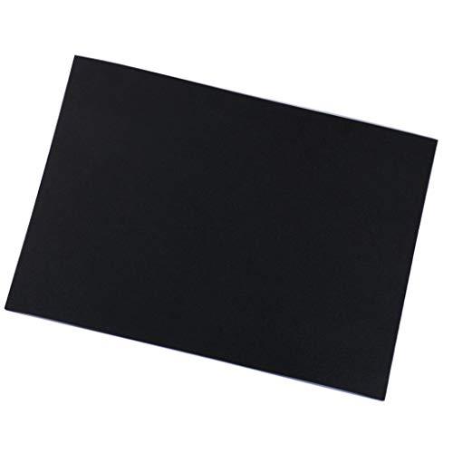 黒い Evaフォーム ハンドクラフトシート 子供クラフト DIYコスプレモデル 手作り 全3種 - 10mm