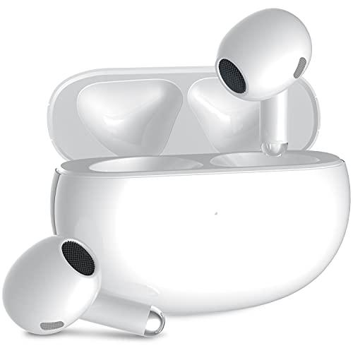 Auriculares Bluetooth 5.2 inalámbricos 42 horas impermeables auriculares inalámbricos HiFi auriculares in-ear carga rápida con micrófono para PC Android TV Xiaomi Samsung Huawei