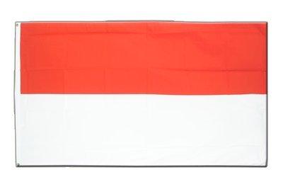 Monaco Flagge, monegassische Fahne 90 x 150 cm, MaxFlags®