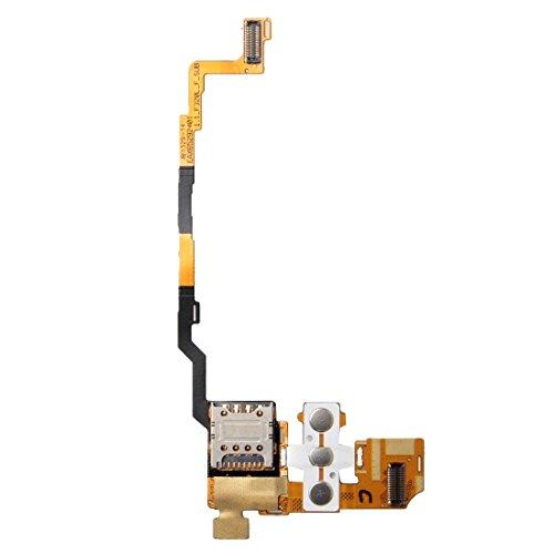 jingtingmy Fijar Las Piezas del teléfono renovar IPartsBuy Lector de Tarjetas for LG G2 / F320 SIM Flex Cable Accesorio