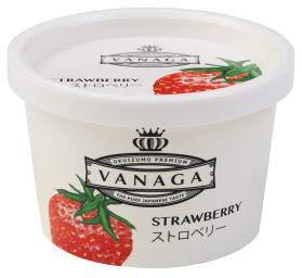木次 VANAGAいちごアイスクリーム 120mlx4個セット