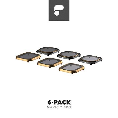 PolarPro 6PK Filtern für DJI Mavic 2 Pro,Schwarz/Bronze