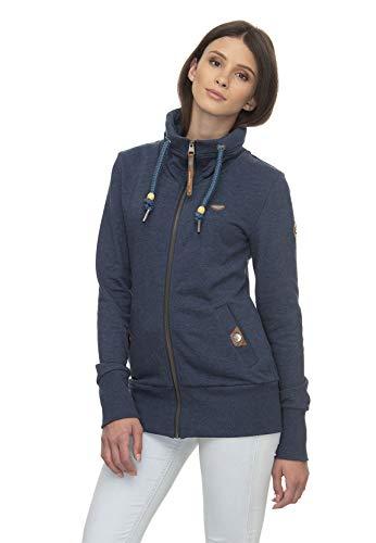 Ragwear Zipper Damen Rylie Zip 2011-30036 Blau Denime Blue 2010, Größe:M