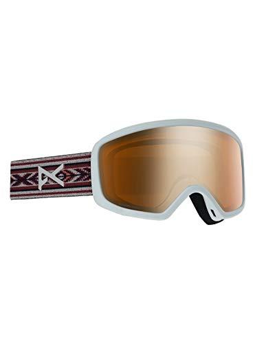 Anon Damen Deringer Mfi Snowboard Brille, Bohemian/Sonarbronze