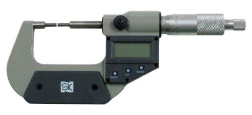 新潟精機 SK デジタルスプラインマイクロメータ MCD230-25SB