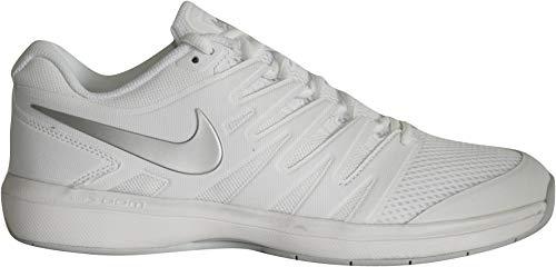 Nike W Air Zoom Prestige Cpt, Zapatillas para Mujer, Multicolor (White/Metallic Silver/Pure Platinum 001), 42.5 EU