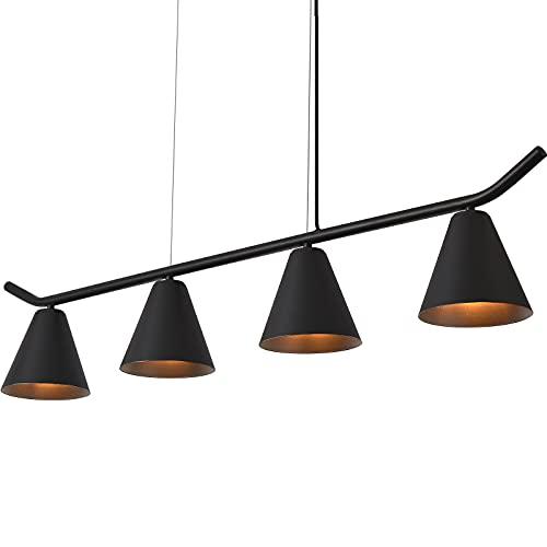 Pendant Lighting Ceiling 4-Light, Yolovi Industrial Modern Kitchen Light 43