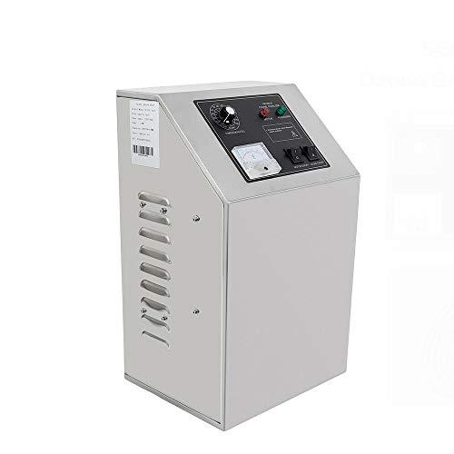 WUPYI2018 - Generador de ozono profesional, 5 g/h, ozonizador comercial, purificador de...