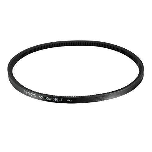 uxcell AX35 Drive V-Belt 35 Inches Length Industrial Power Rubber Transmission Belt